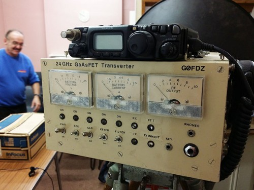 24GHz (12mm) Transverter - G0FDZ