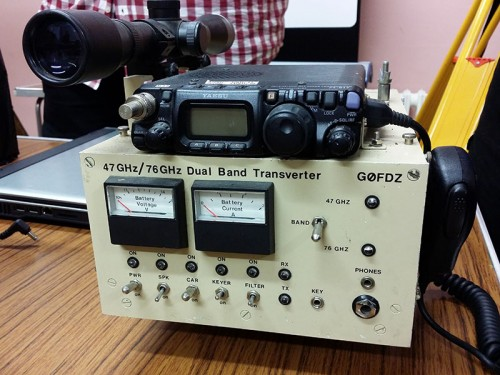 47GHz (6mm) & 76GHz (4mm) Transverter - G0FDZ